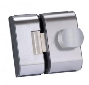 Fechdura Elétrica PV90 2FB para portas de vidro padrão furação que abram para dentro